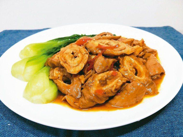 味噌滷肥腸