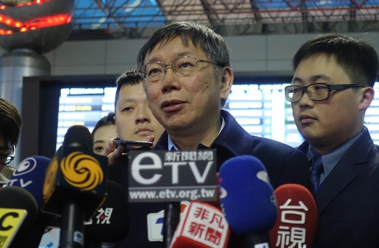 台北市長柯文哲表示,韓流的威力還是很強。 記者邱瓊玉/攝影