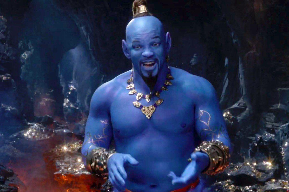 好萊塢巨星威爾史密斯今年不當MIB戰警,他在「阿拉丁」真人版電影中飾演搞笑的神燈...