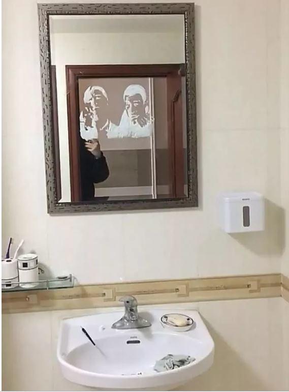 大連90後小伙李益達「牙膏畫」畫得維妙維肖。(取材自半島晨報)