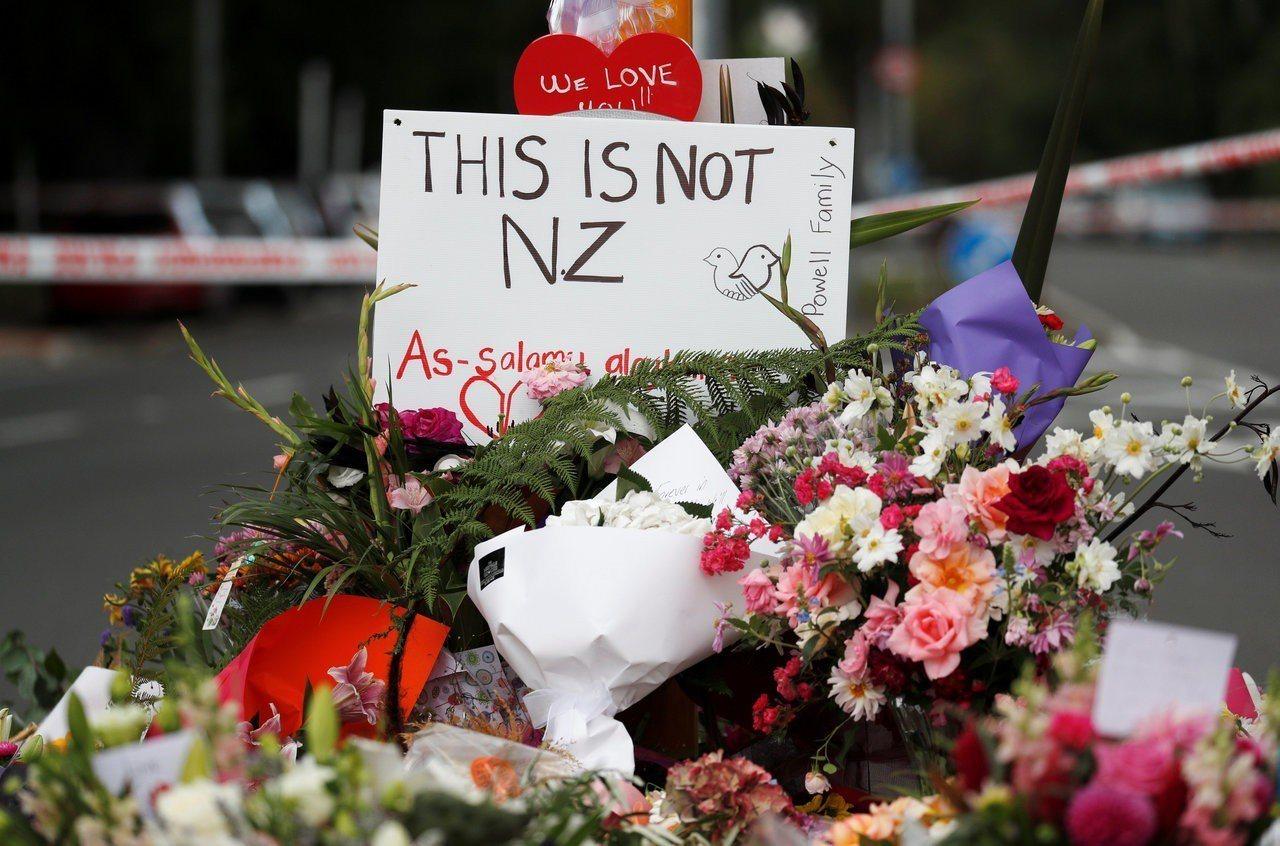 紐西蘭恐怖攻擊奪走50條性命。 路透