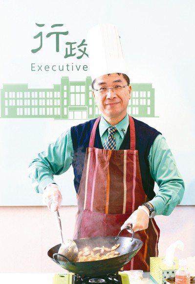 內政部長徐國勇擁有一手好廚藝。 圖╱聯合報系資料照片
