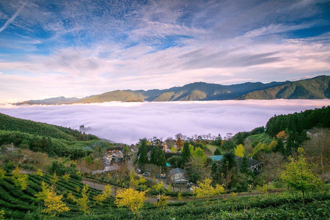 圖/去年12月份雲海。截至山上人家粉專。