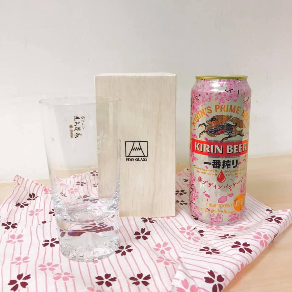 圖/富士山櫻花杯,抽5位。截至 KIRIN 麒麟一番搾り啤酒 粉專 ※ 提...