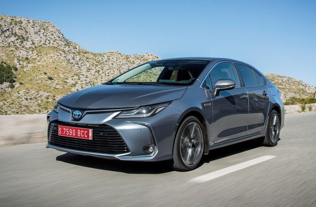 歐規Corolla的外觀依舊能為市場上多數人所接受。 摘自Toyota