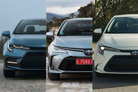 第12代Toyota Corolla中、歐、美規和台灣Altis外觀 你比較喜歡哪一種!