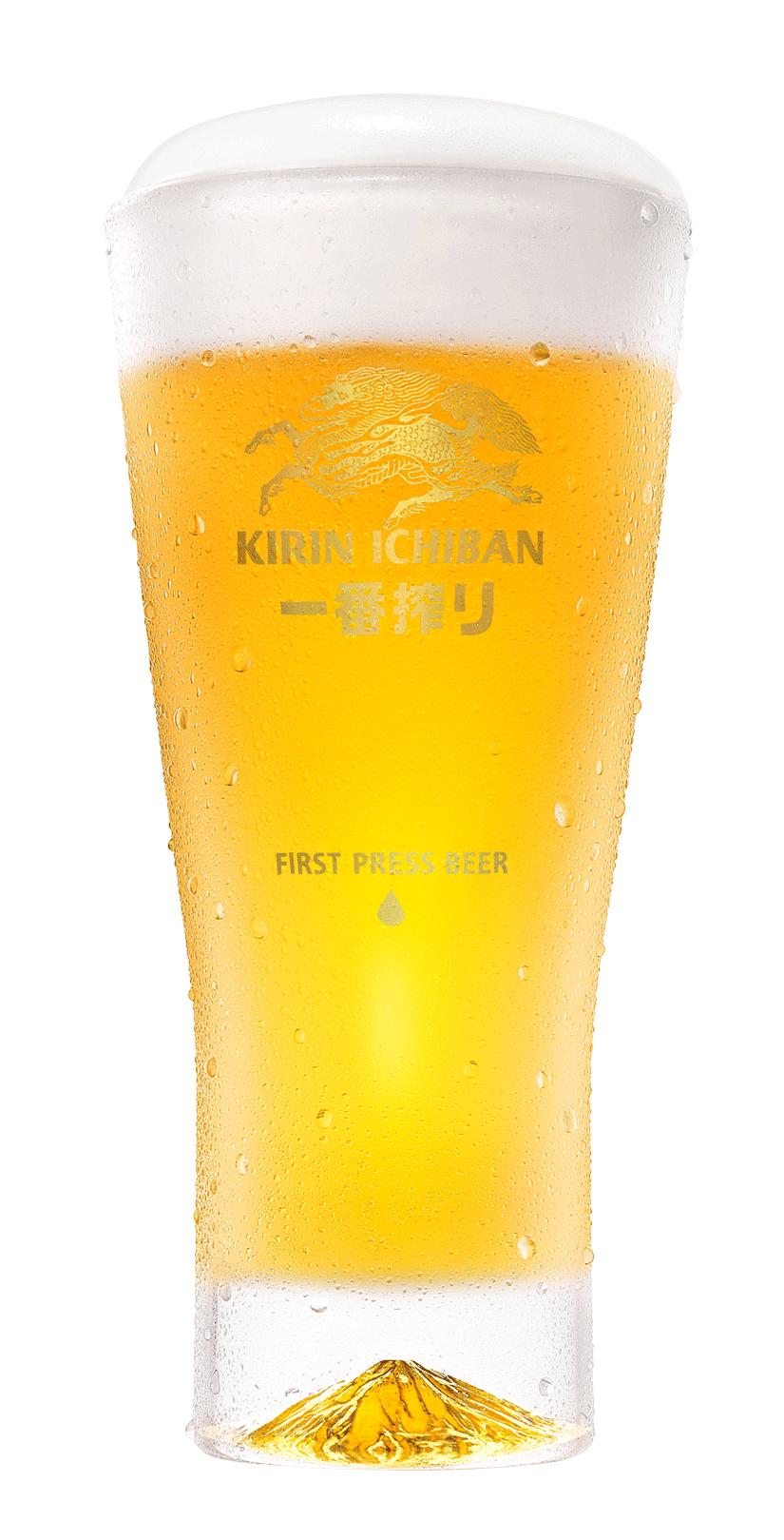 圖/麒麟一番搾富士山杯,抽10位。底部有座精美的富士山。截至 KIRIN 麒麟一...