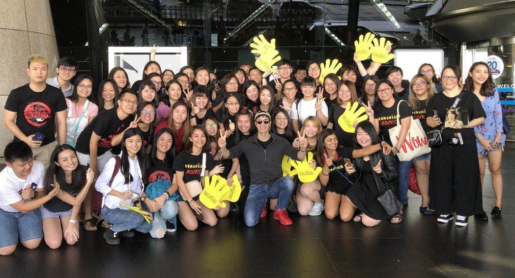 王力宏16日在大馬開唱,受到歌迷熱烈歡迎。圖/宏聲提供