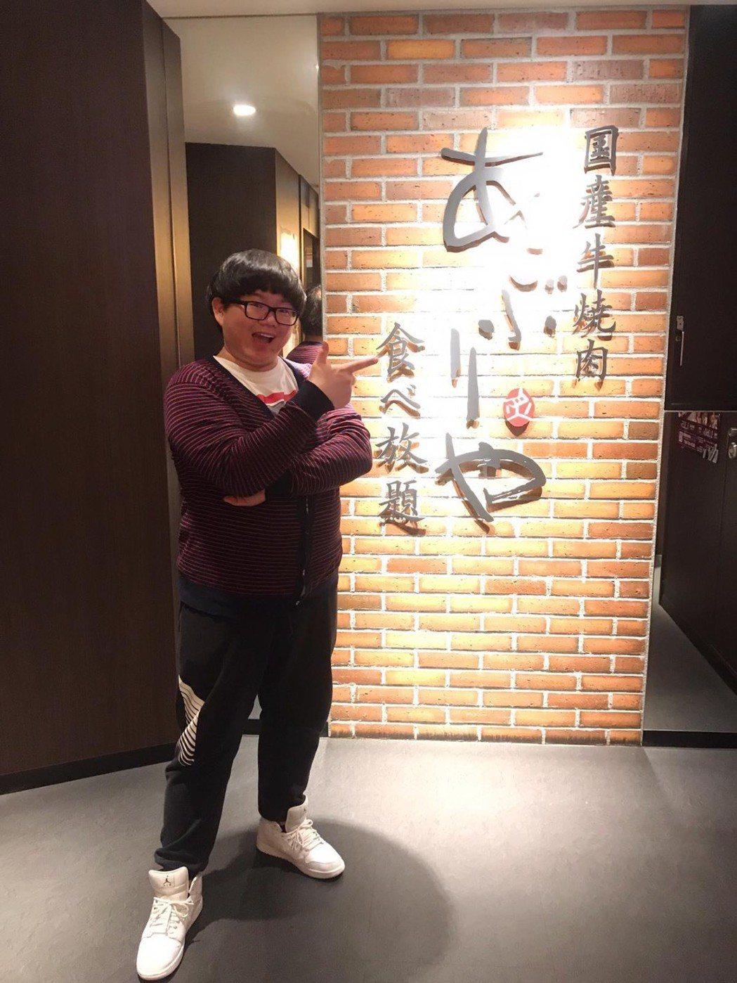 小胖林育羣日前才去了一趟日本順便慶生。圖/林育羣提供