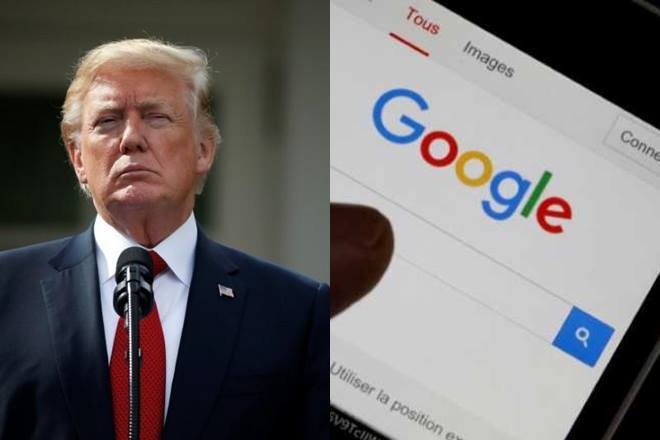 谷歌近日連遭川普與美國高階將領指控跟中國大陸的解放軍合作。 路透