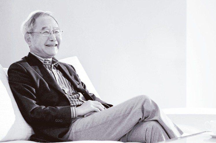 大陸建設董事長張良吉。 記者陳立凱/攝影