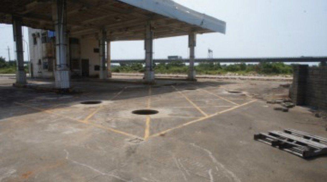 桃園分署去年更法拍過整座加油站,最後由買家以800多萬元得標。 圖/行政執行署桃...
