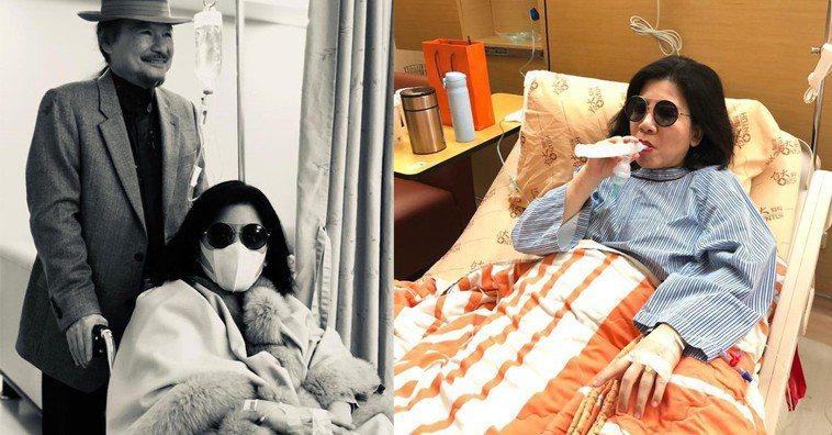 陳文茜視腫瘤為小事 名醫讚她為癌友典範。翻攝自《文茜的世界周報 Sisy's W...