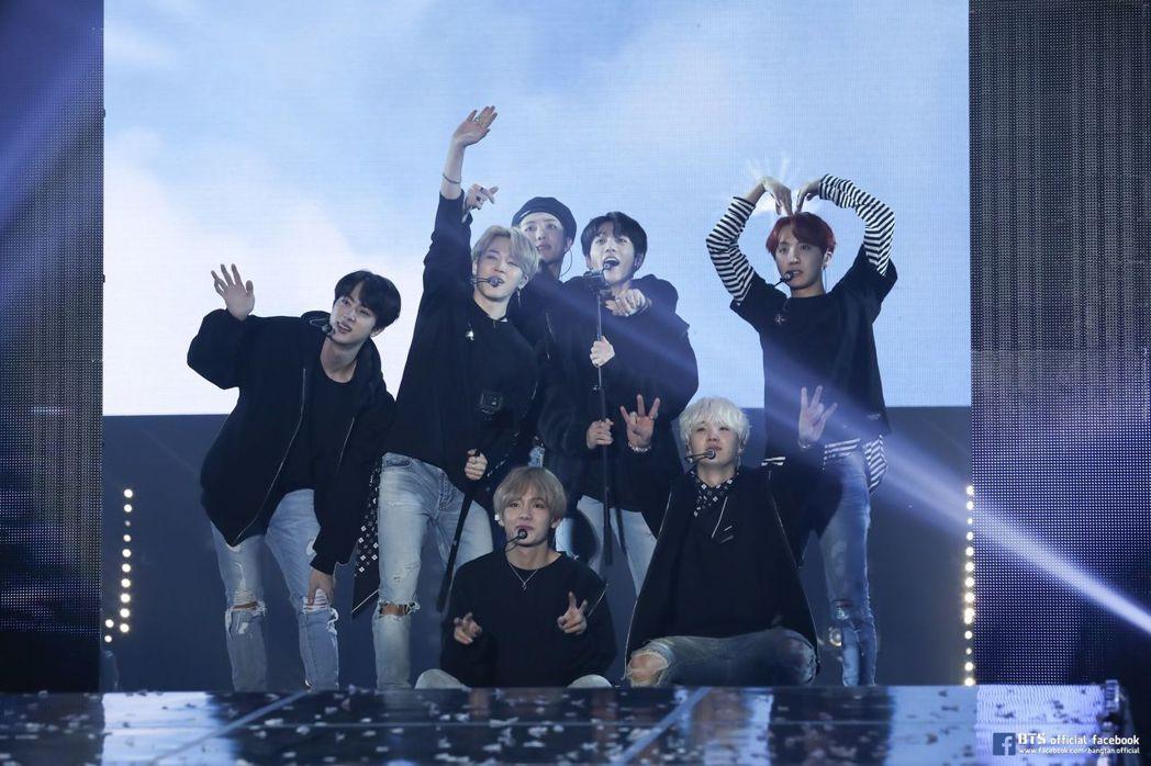 圖/擷自BTS官方臉書