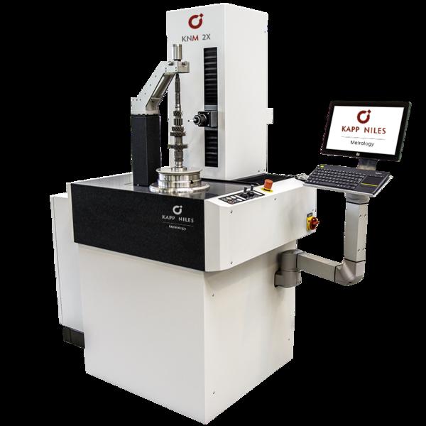 相成公司引進的KAPP NILES針對較小齒輪全新開發的高精度測量儀KNM 2X...