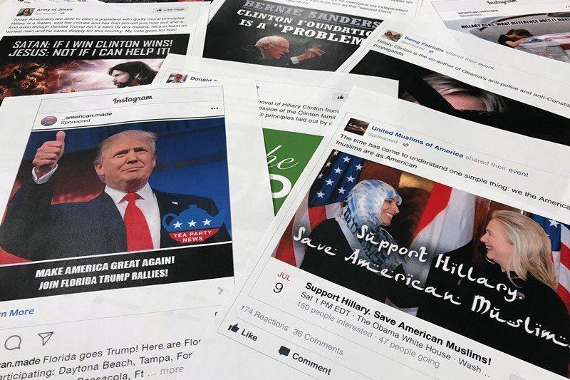 圖為2016年,美國情報體系指控俄羅斯對美國總統選舉所作出的一系列操作干預。 圖...