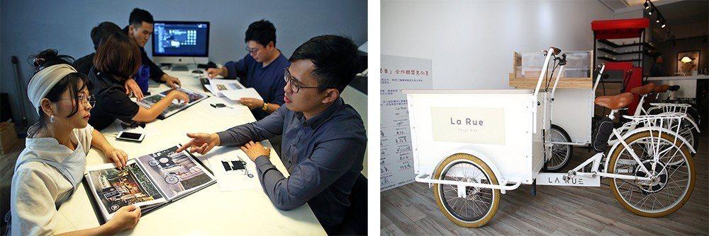 (左) 就算不是「La Rue」所銷售的三輪車,Eric也願意和其他車友分享資訊...