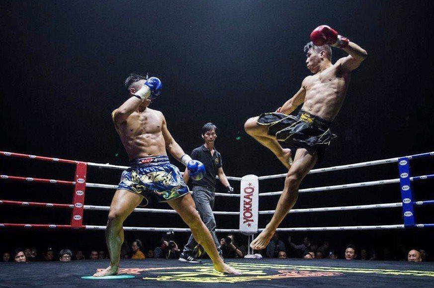 泰拳就像下棋,攻防之間需要腦筋靈活的戰略思考。 (照片提供/黃嵩森)