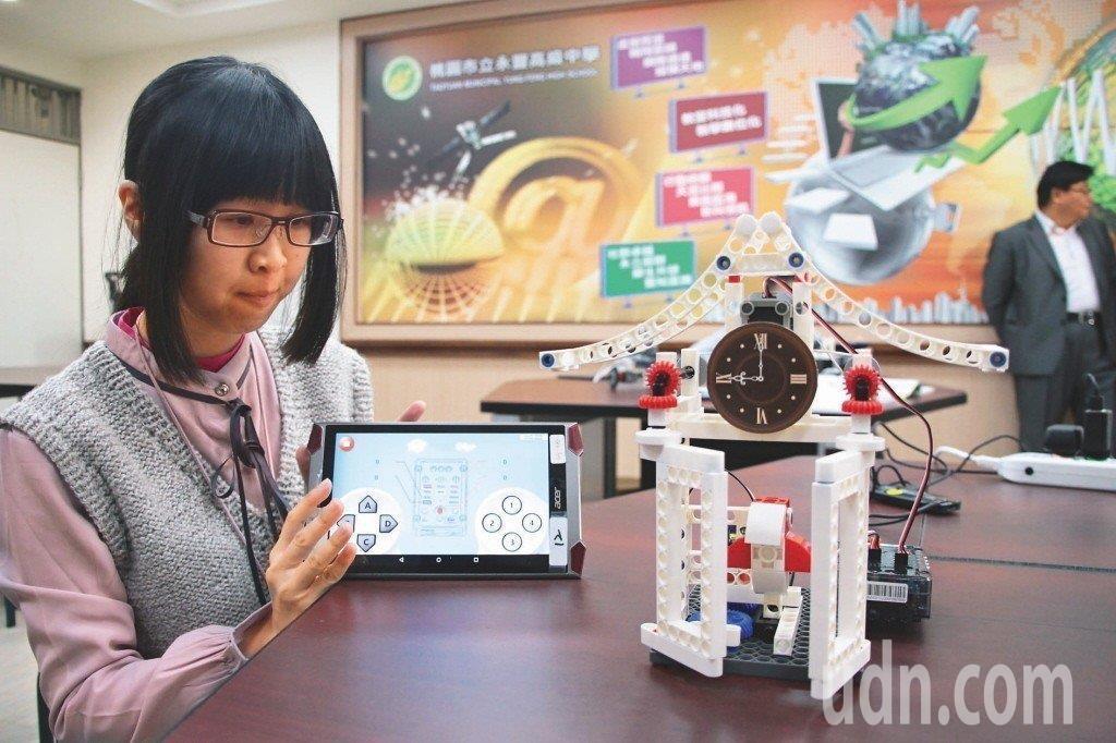 桃園永豐高中「AI人工智慧科技實驗班」,校方與業界合作,讓實驗班學生從高中開始接...