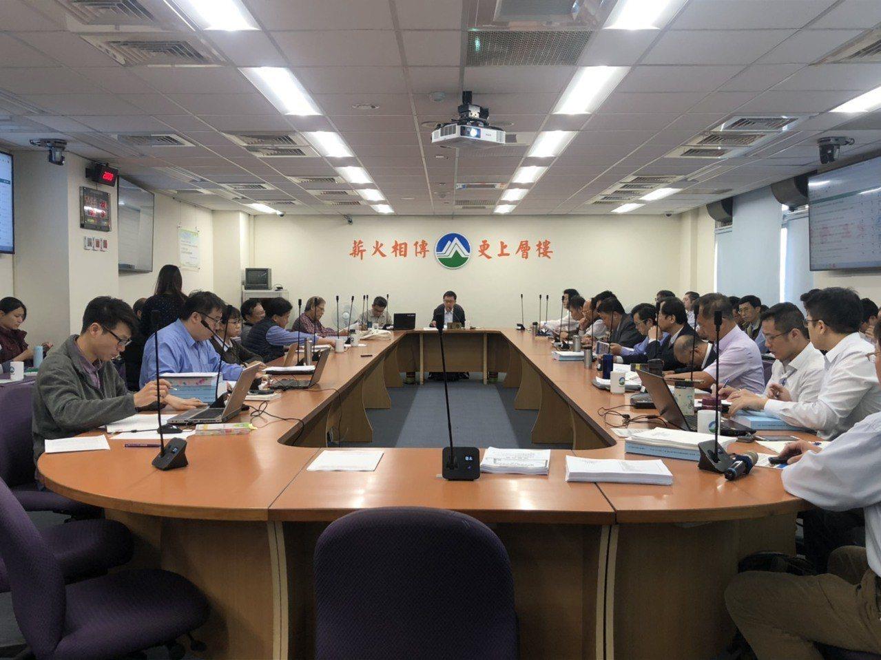 環保署今天舉辦「核能一廠除役計畫」第三次環評初審會議。記者侯俐安/攝影