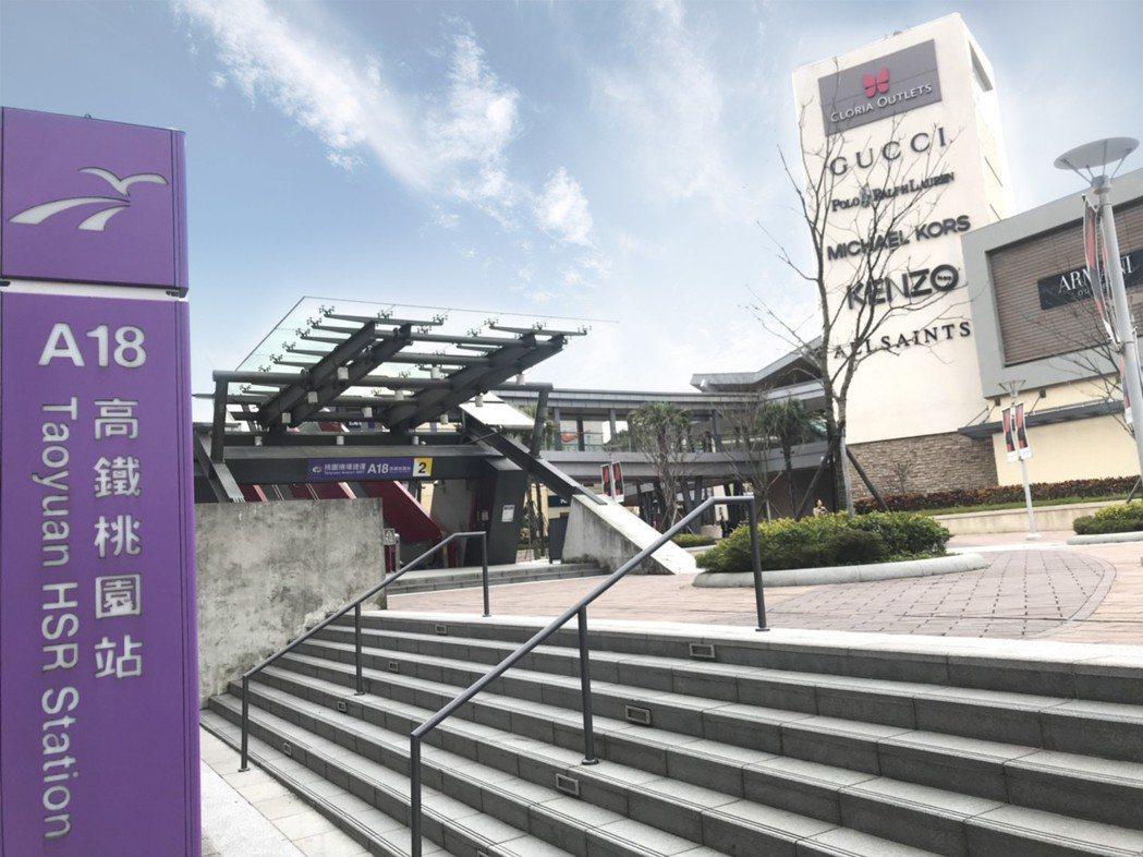 GLORIA OUTLETS華泰名品城座落於桃園青埔特區,將於5月正式全期開幕,...