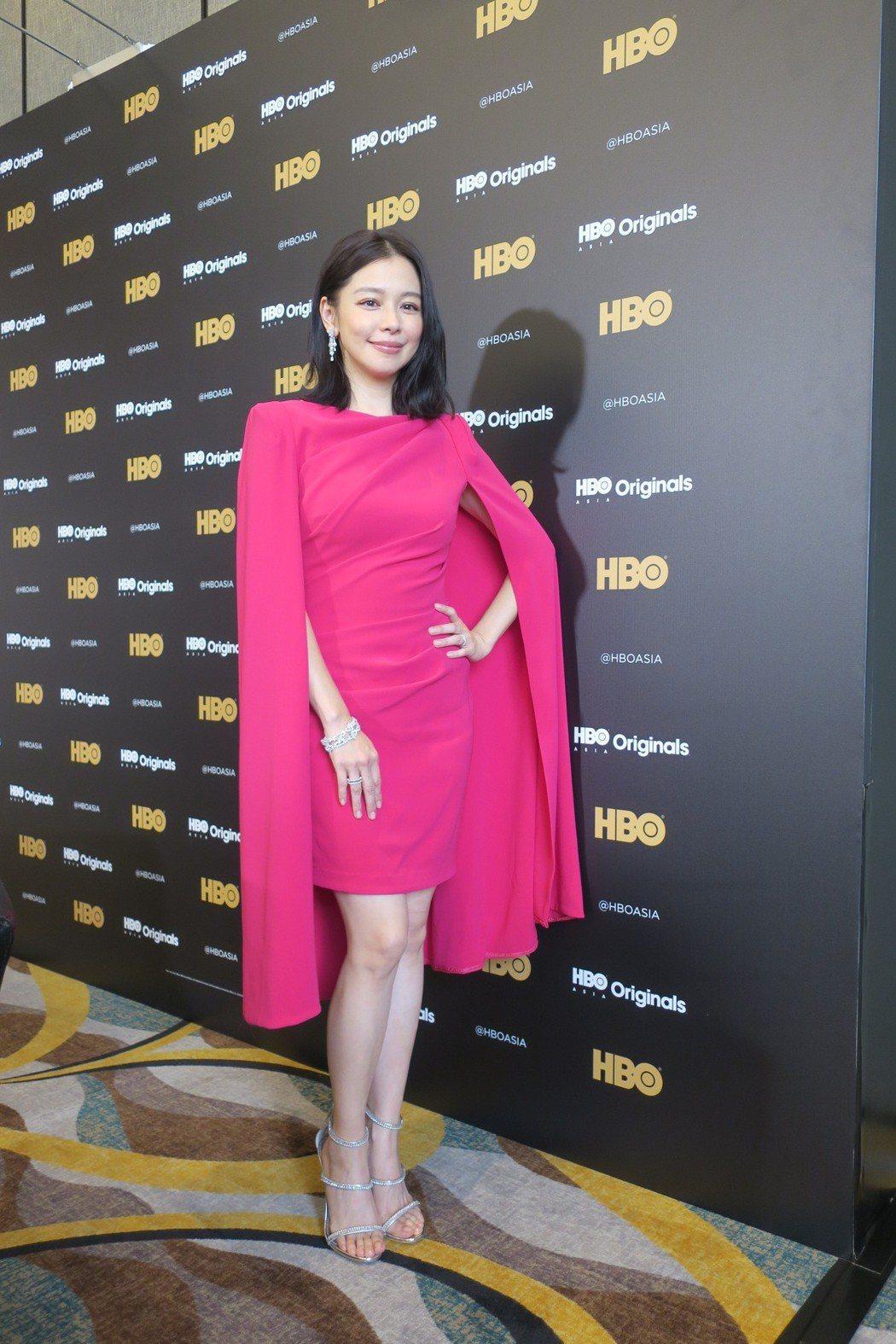 徐若瑄主演HBO新科幻影集「獵夢特工」。記者蘇詠智/攝影