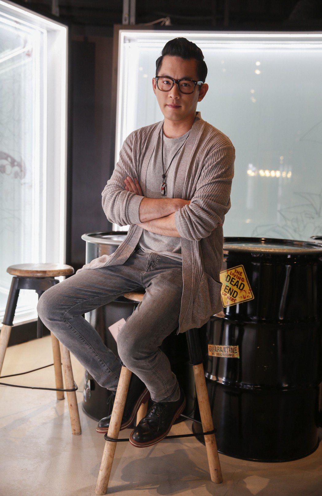 Junior韓宜邦當通告咖時被嫌沒哏,反而在戲劇圈找到一片天。記者鄭超文/攝影