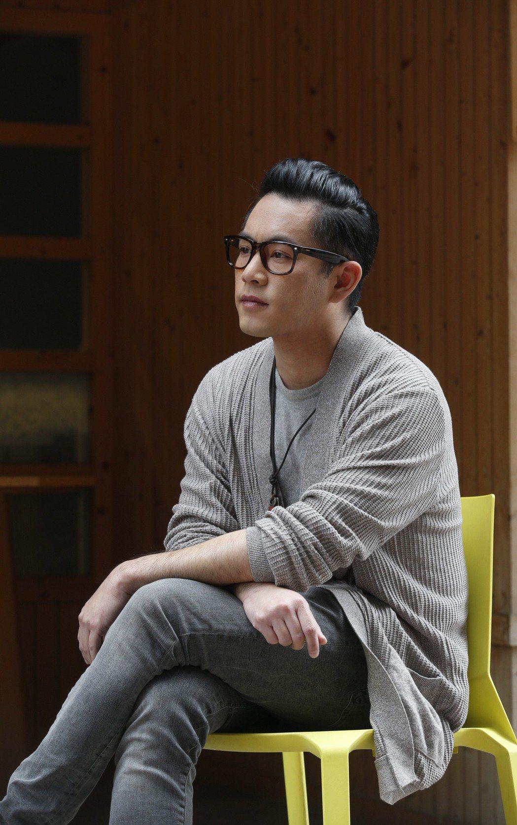 Junior韓宜邦對於表演方式有自己的想法。記者鄭超文/攝影