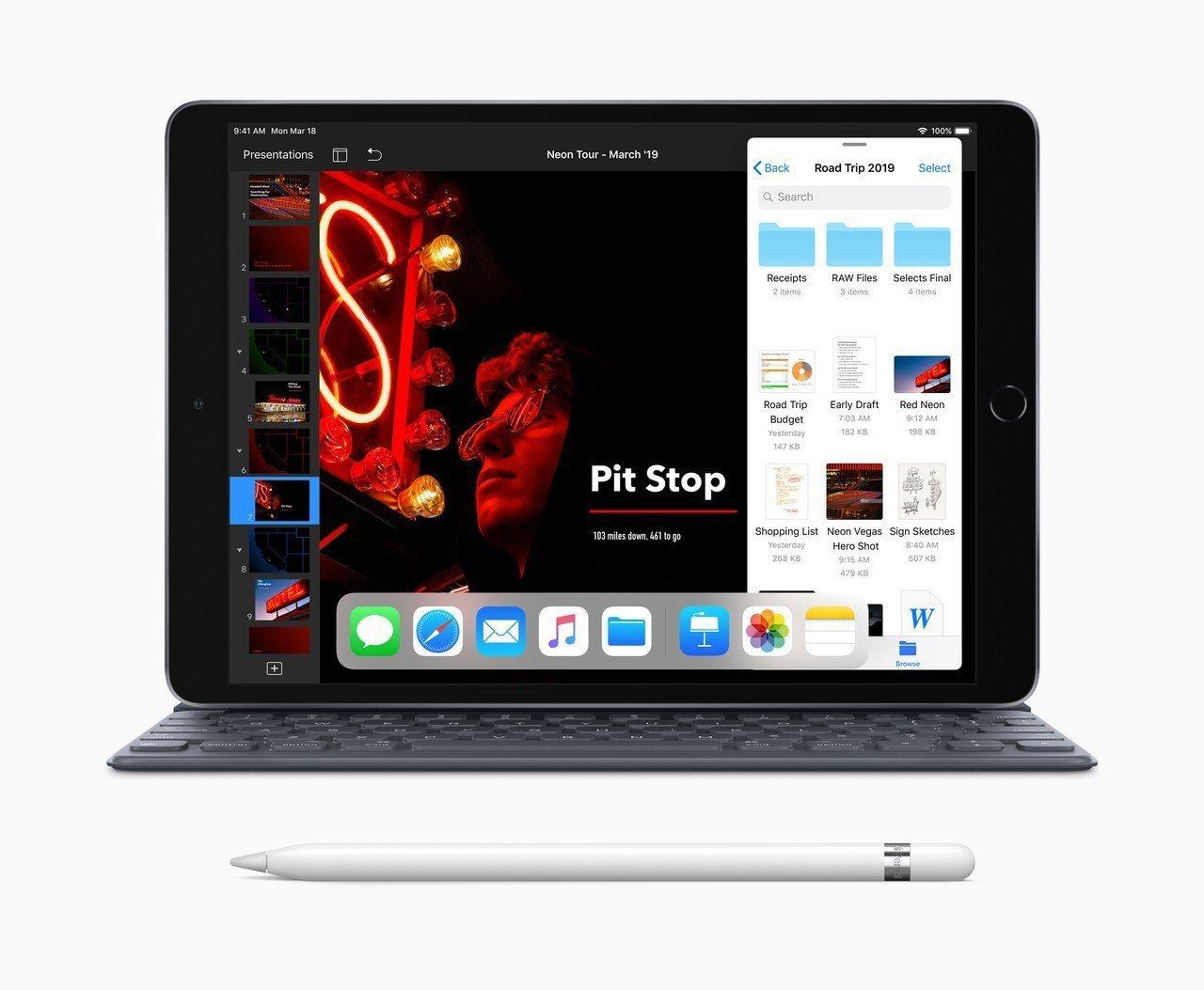 新款iPad Air支援使用上一代Apple Pencil,並可搭配Smart ...