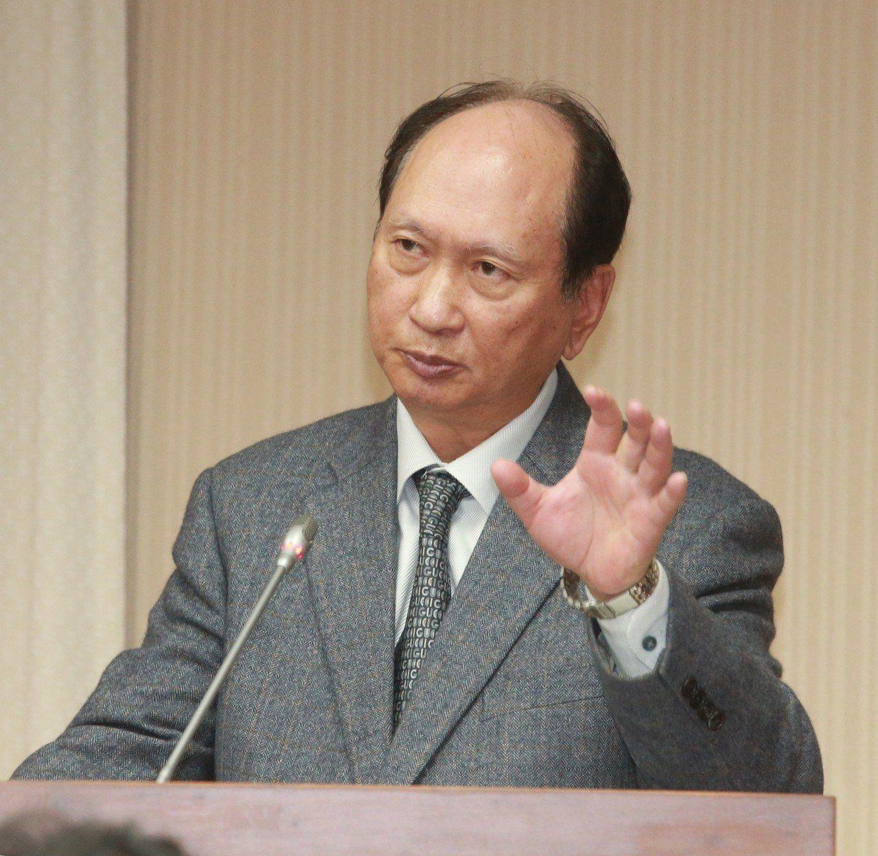 公共工程委員會主委吳澤成。聯合報系資料照