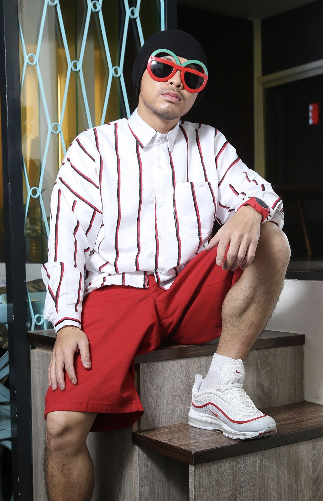 馬來西亞歌手黃明志。記者許正宏/攝影
