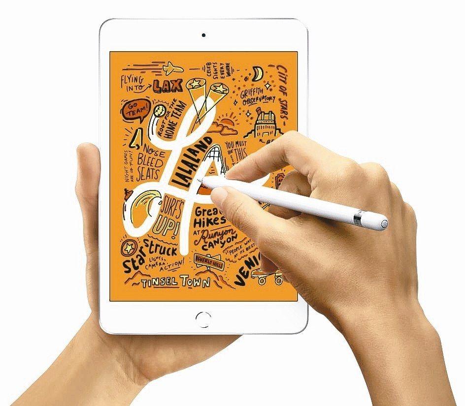蘋果推出兩款新平版,圖為7.9吋iPad Mini新機。 (路透)