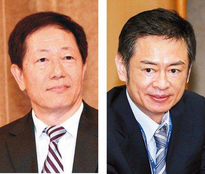 台積電董事長劉德音(左)及大立光執行長林恩平。(本報系資料庫)