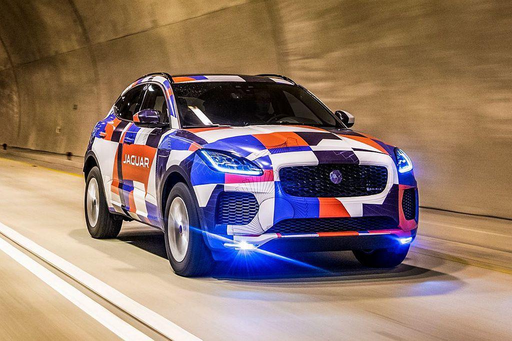 Jaguar Land Rover台灣捷豹路虎針對E-PACE車系,導入D150...
