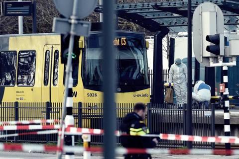 荷蘭中部大城烏特勒支(Utrecht)18日上午發生重大槍擊事件。 圖/法新社