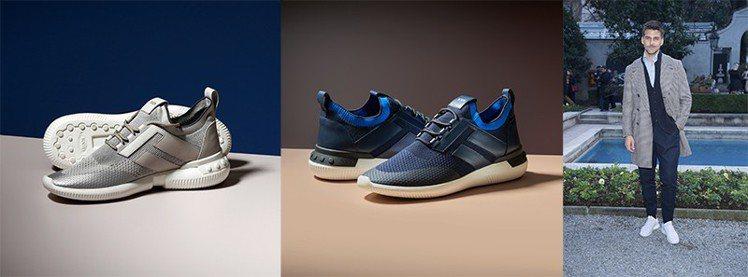 TOD'S No_Code Shoeker男士休閒鞋是融合工匠技術與設計師潮流觸...