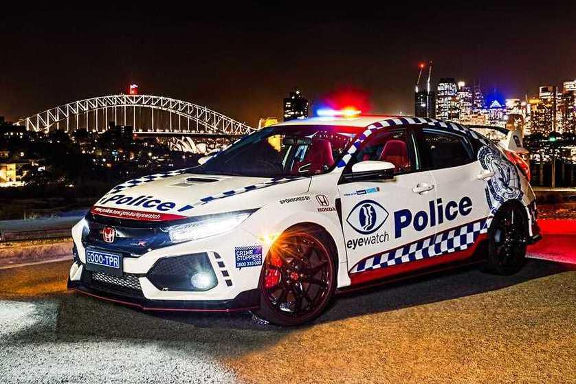 澳洲警察又有新夥伴了 Honda Civic Type R加入波麗士行列