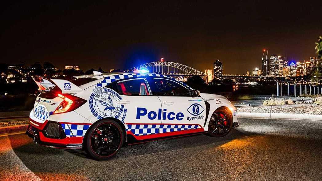 澳洲新南威爾斯州的新夥伴:Honda Civic Type R。 摘自Honda...