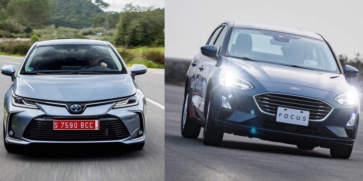紙上談車再一發 TOYOTA Corolla Altis VS Ford Focus 4D