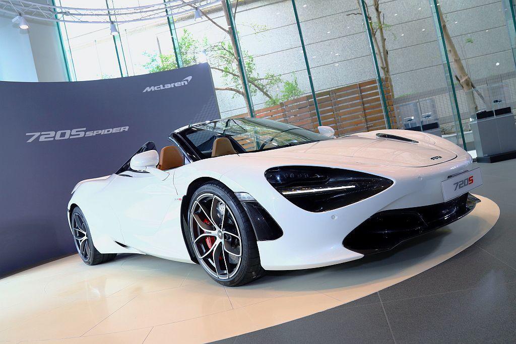 去年底全球首發,今年3月日內瓦車展才公開亮相的McLaren 720S Spid...
