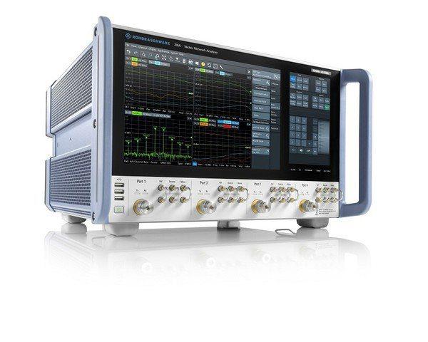 圖3 : R&S ZNA新一代高階向量網路分析儀