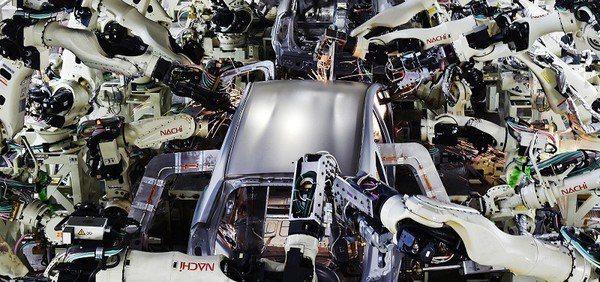 圖二 : 豐田式生產核心是以數據為本,摒棄一切物件、時間與工序的浪費,讓製程中的...