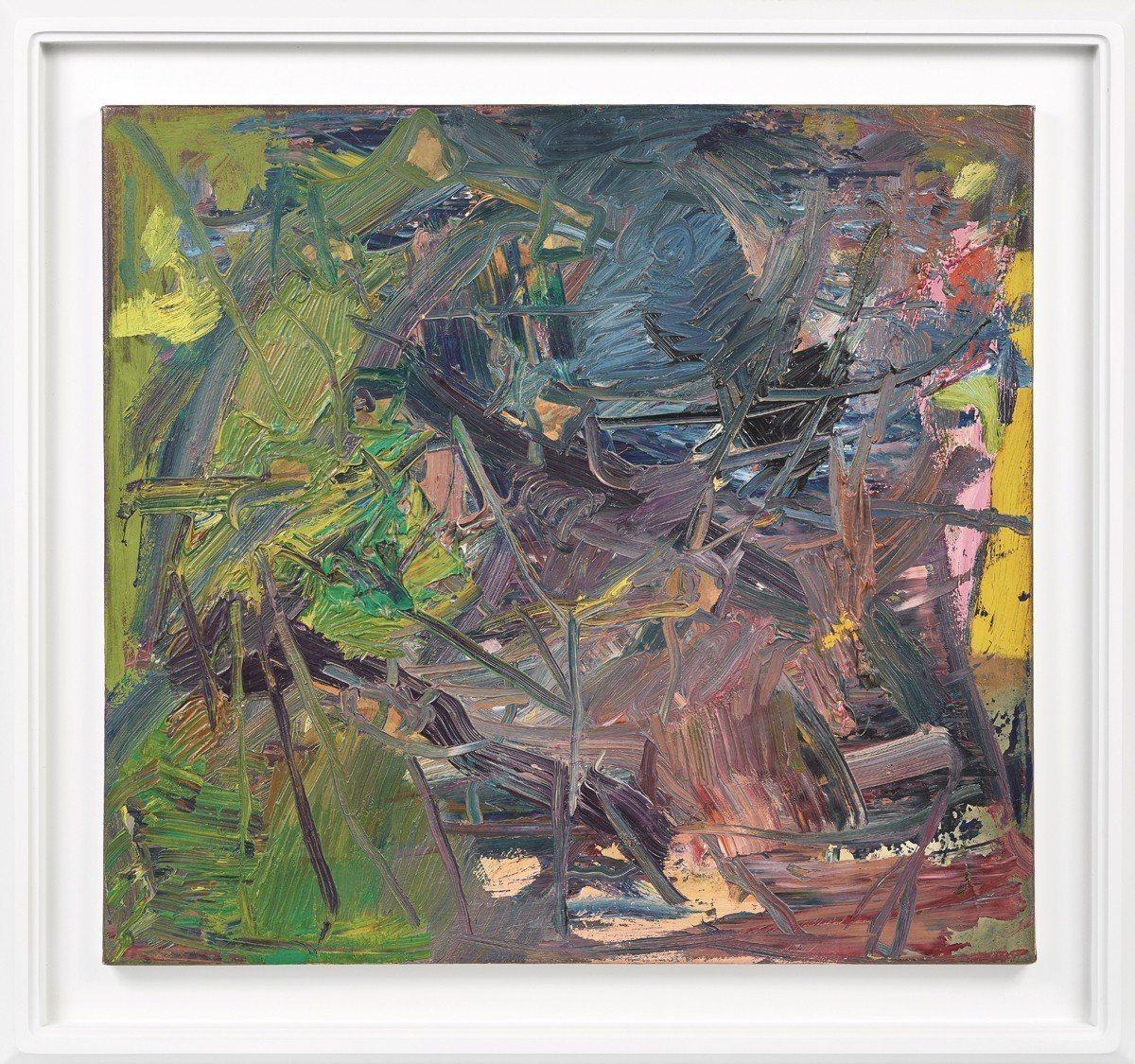 李希特 〈抽象畫432-4〉 油彩畫布 一九七八年作 60.5 × 64.3...