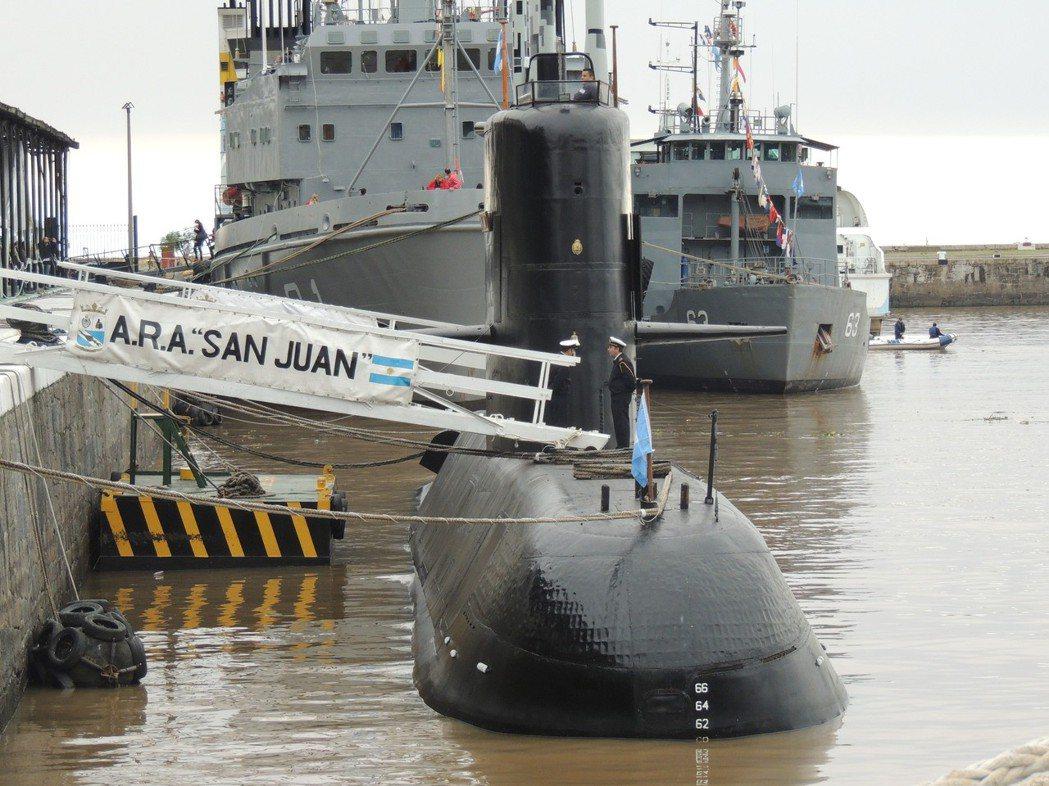 聖胡安號潛艦。圖/引自維基共享資源