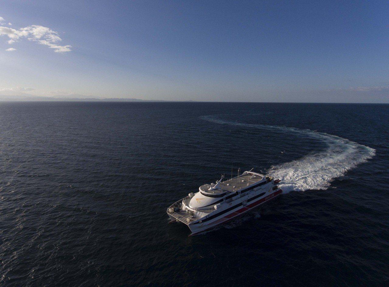 最新高速客輪雲豹輪周末首航 布袋澎湖來回600