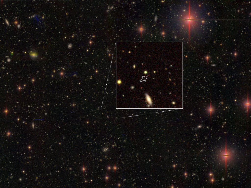清華大學天文所副教授後藤友嗣攜手國際團隊,在距離地球約130億光年的超遠方宇宙發...