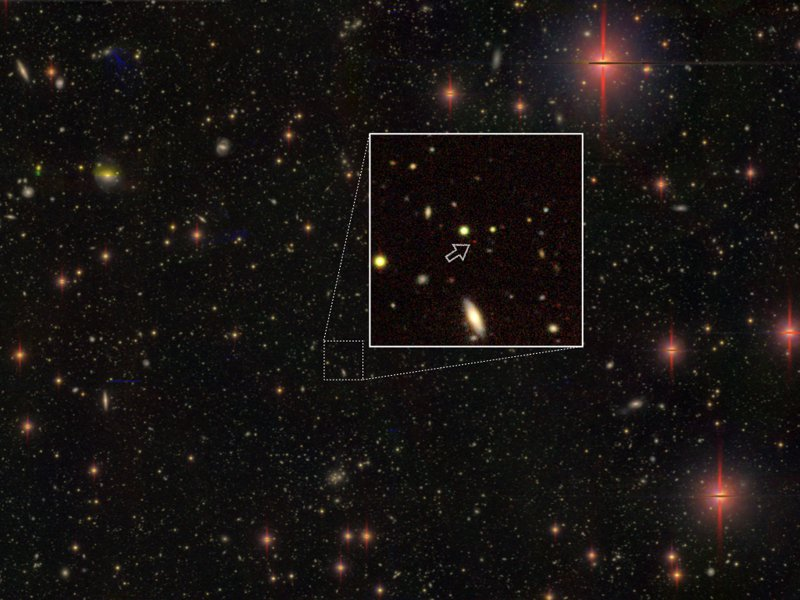 清華大學天文所副教授後藤友嗣攜手國際團隊,在距離地球約130億光年的超遠方宇宙發現百個超大質量黑洞。圖/清大提供