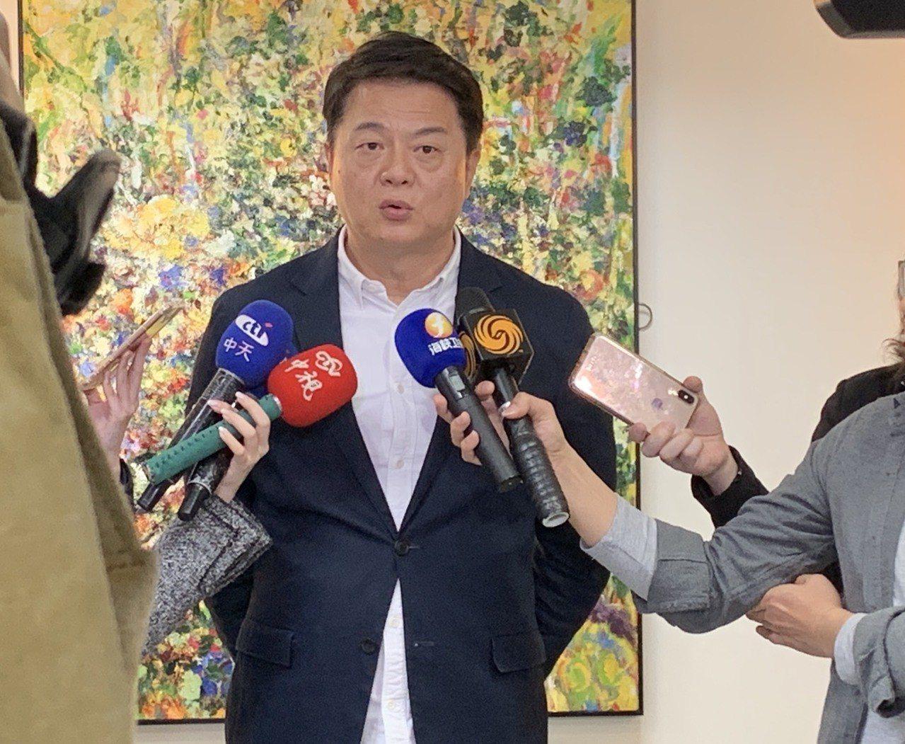 有意參選國民黨總統初選的前台北縣長周錫瑋。記者魏翊庭/攝影