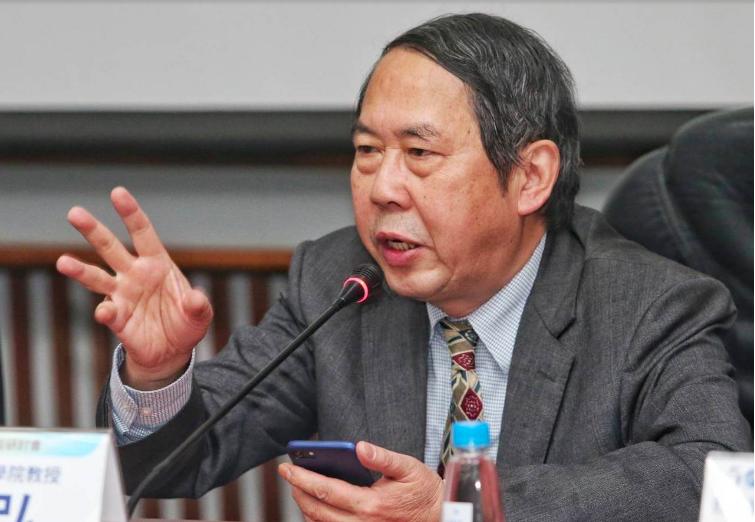 中國人民大學教授時殷弘。聯合報系資料照