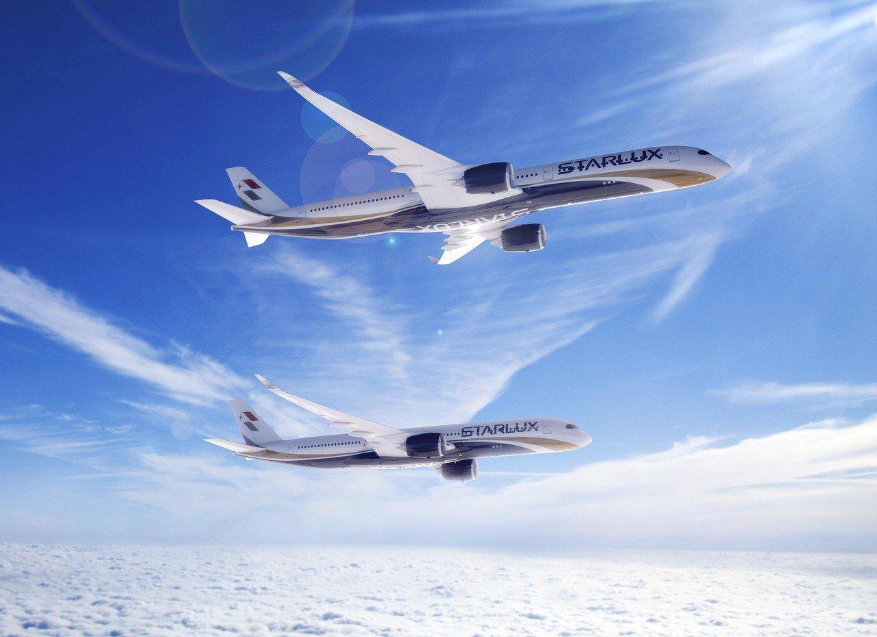 星宇航空今與空中巴士簽約,宣布引進5架A350-900及12架A350-1000...